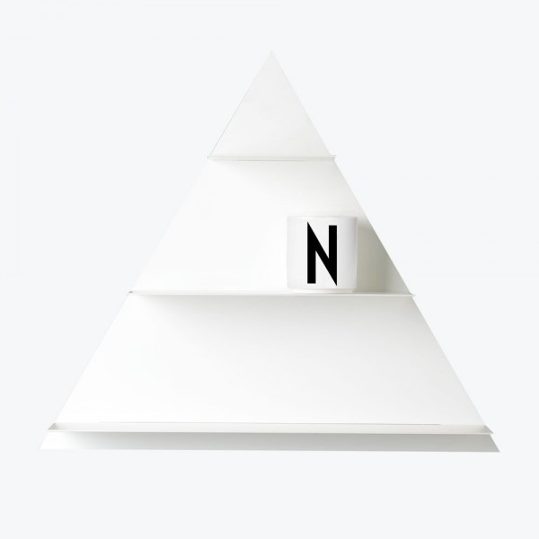 Design Letters White Paper Triangle Regal weiss 42x29,7x6,6 cm