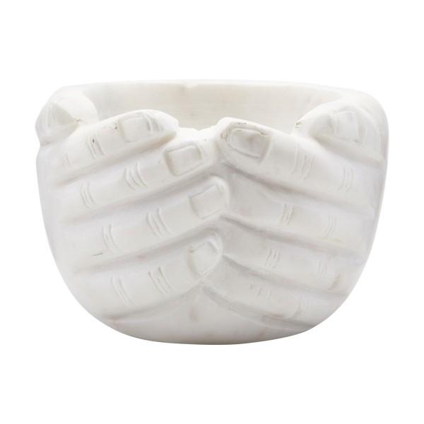 House Doctor Schale Hands Marmor 15x15cm