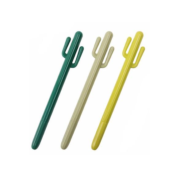 Kaktus Stift verschiedene Grüntöne