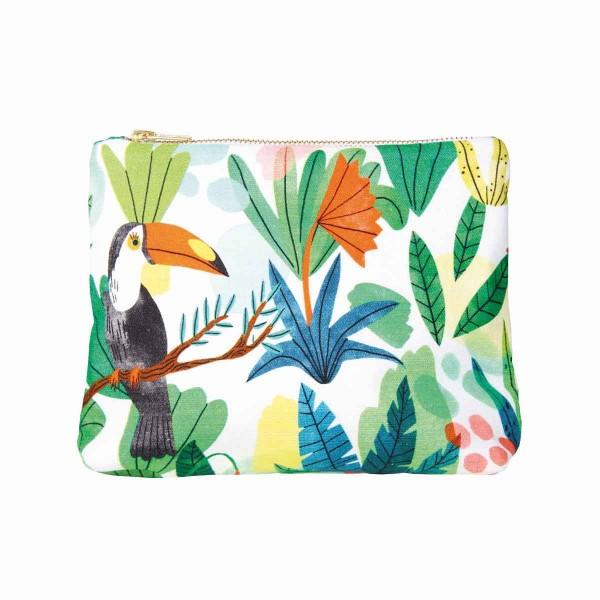 Tukan Tasche Bodil Jane Dschungel Mehrfarbig 21x15,5 cm