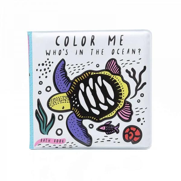 Badebuch Color Me Ozean 12x12cm