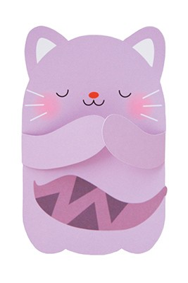 pango productions Katze Hugs Grusskarte