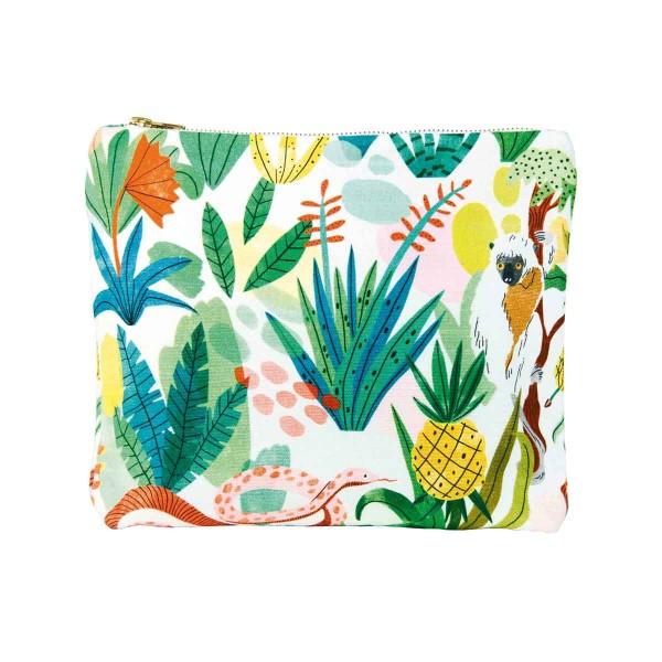 Faultier Tasche Bodil Jane Dschungel Mehrfarbig 26,5x21 cm