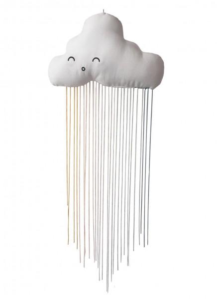Regenbogen Wolke Mobile 18 x 64 cm