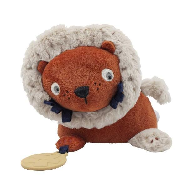 Activity-Spielzeug Lee der Löwe orange 16x32 cm